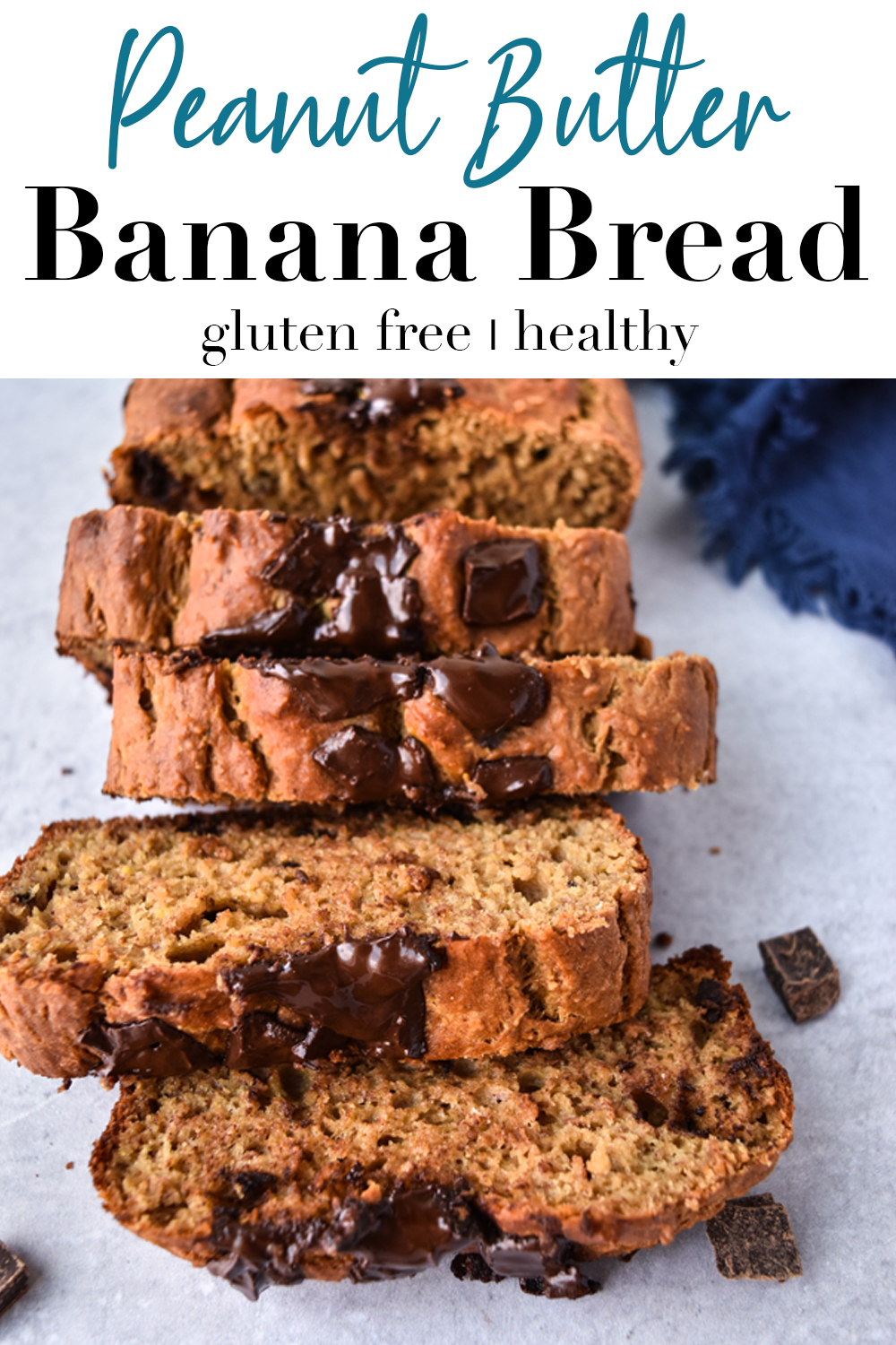 Peanut Butter Banana Bread Pin