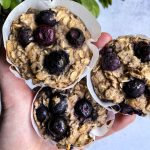 Blueberry Oatmeal Muffin Cups