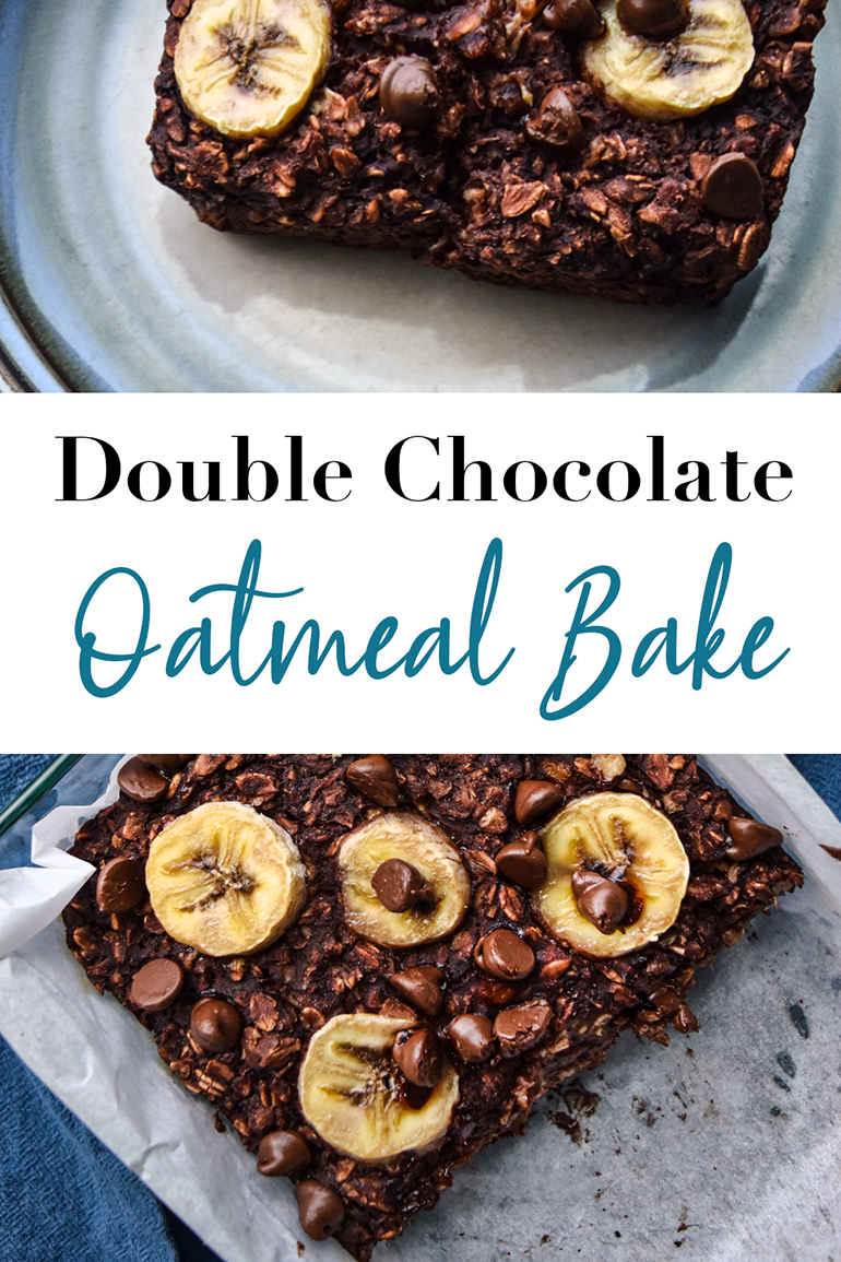 Double Chocolate Oatmeal Bake Pin