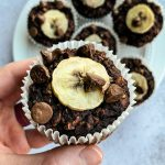 Double Chocolate Oatmeal Muffin Cup