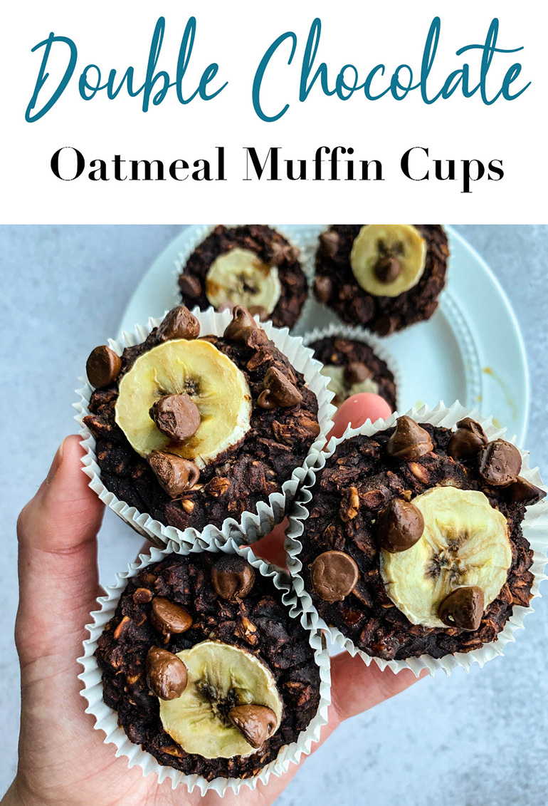 Double Chocolate Oatmeal Muffin Cup Pin