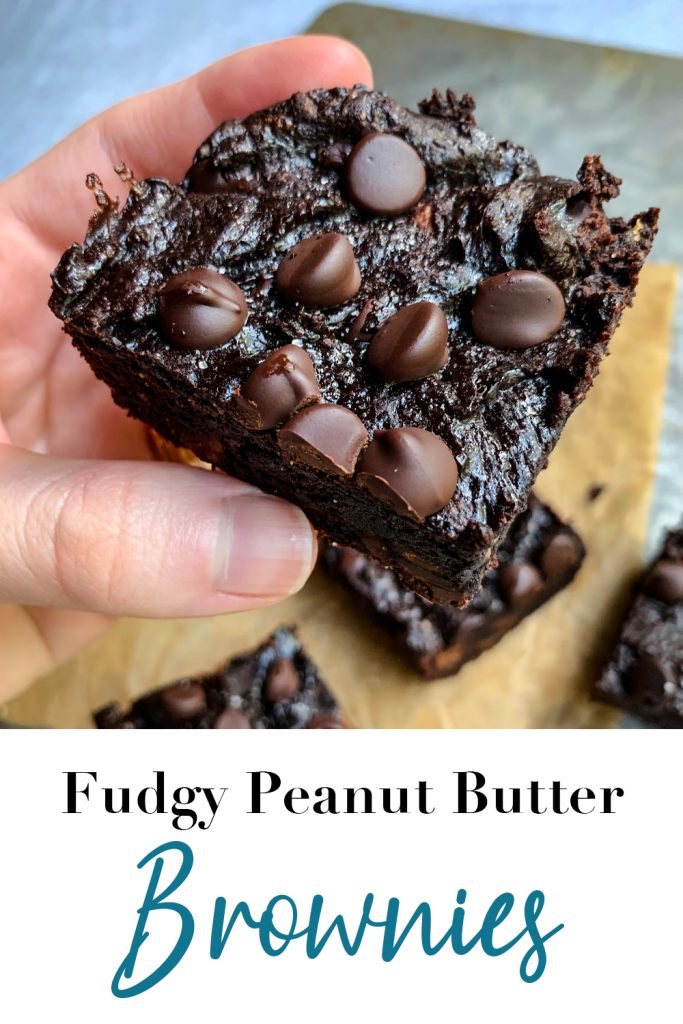 Fudgy Peanut Butter Brownies Pin