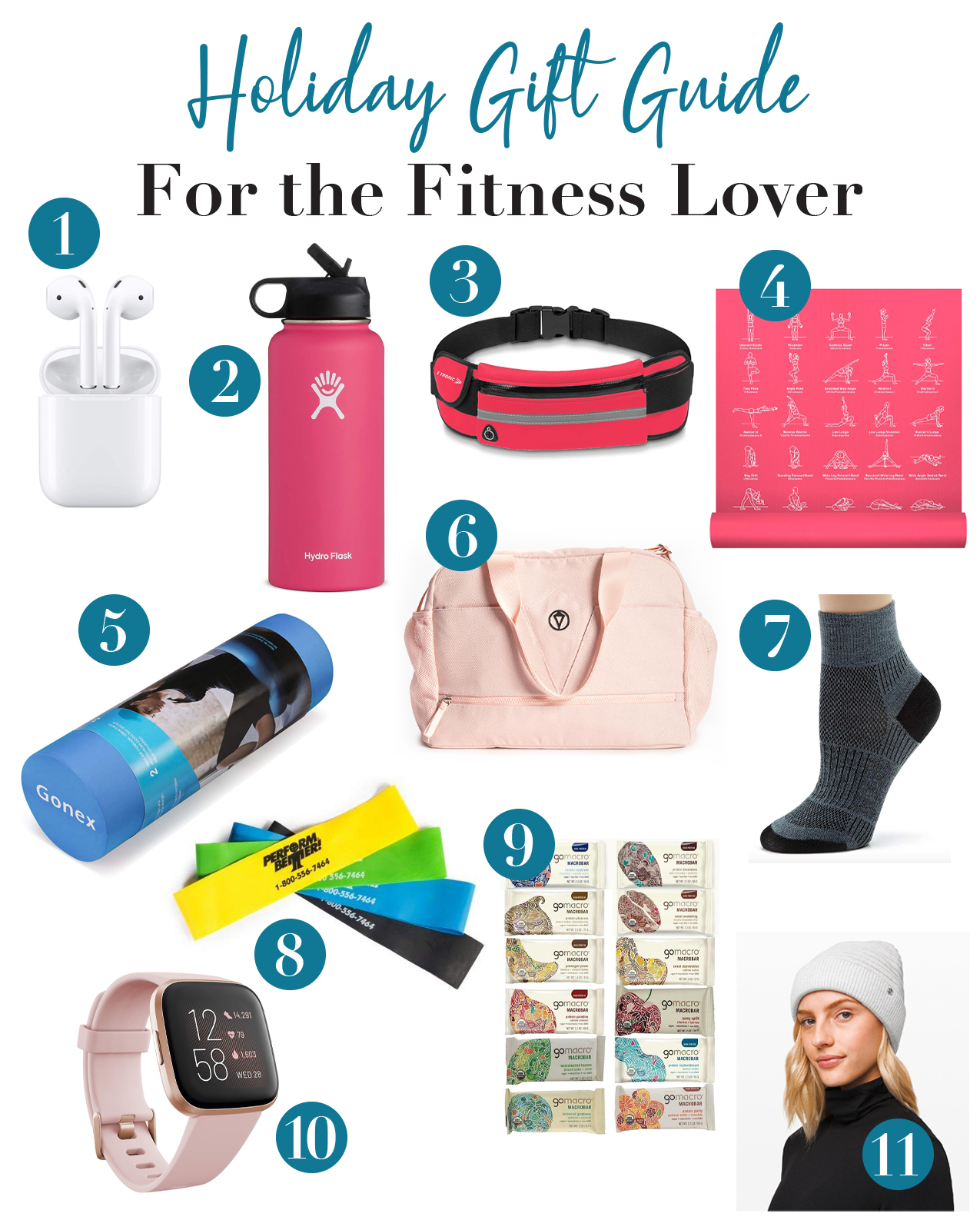 2019 Holiday Gift Guide for the Fitness Lover