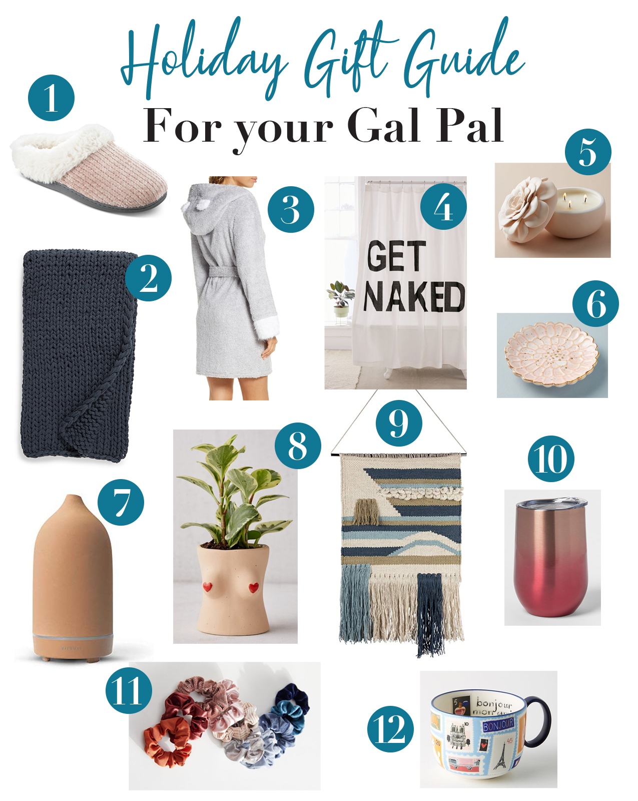 2019 Holiday Gift Guide for you Gal Pal