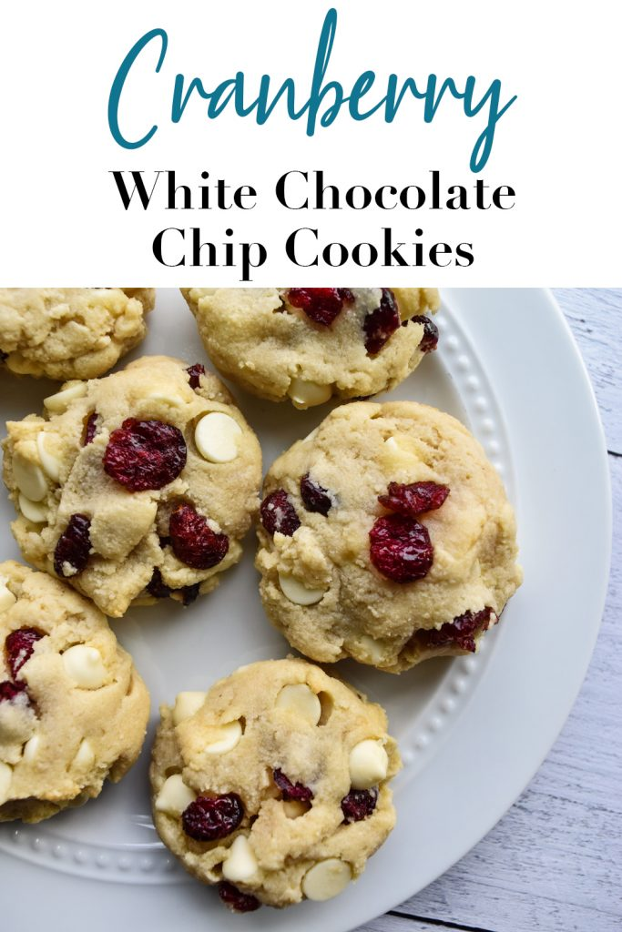 Cranberry White Chocolate Chip Cookies Pin
