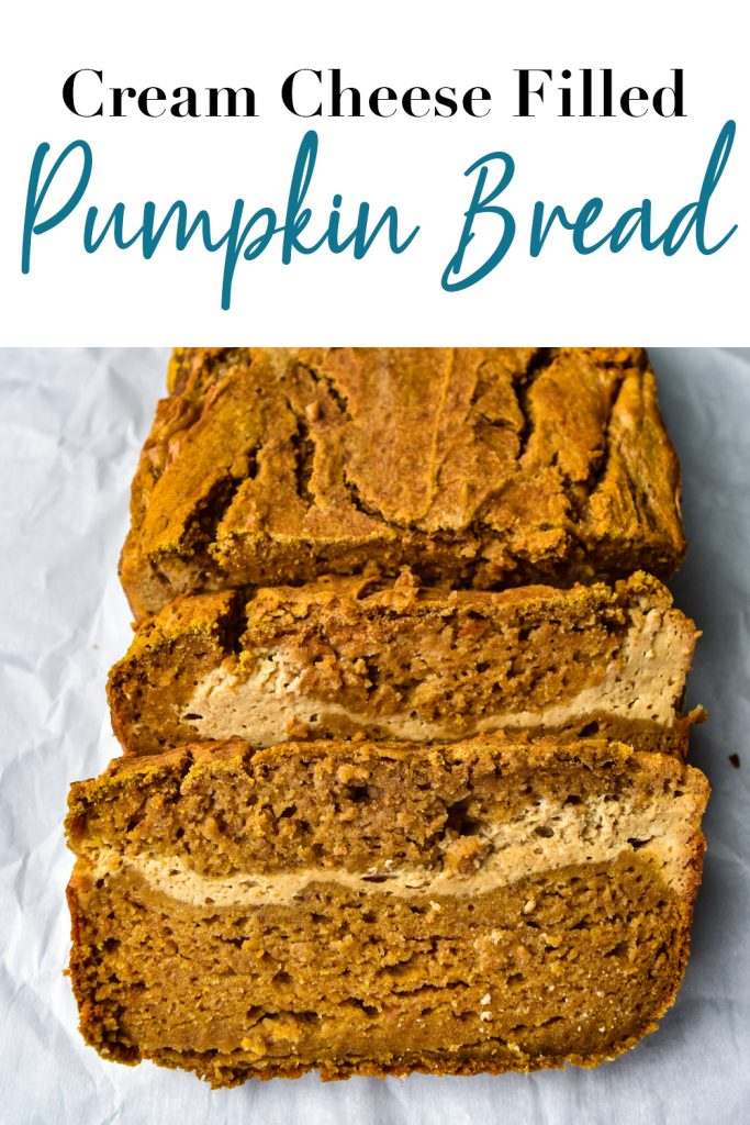 Cream Cheese Filled Pumpkin Bread Pin
