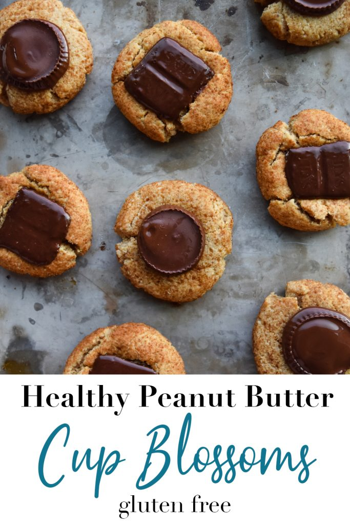 Healthy Peanut Butter Cup Blossom Pin