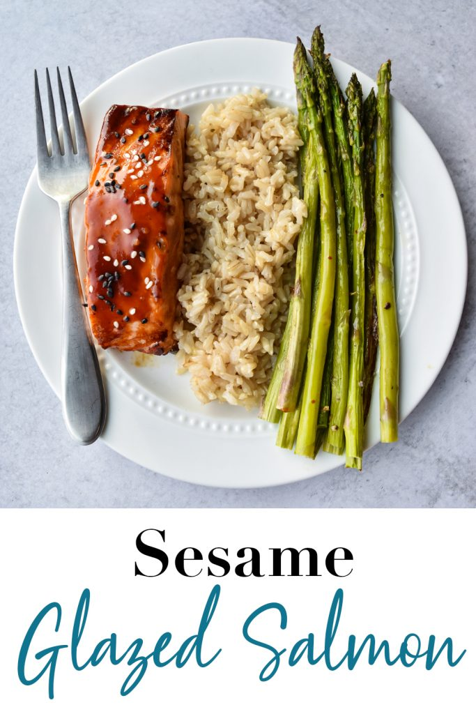 Sesame Glazed Salmon Pin