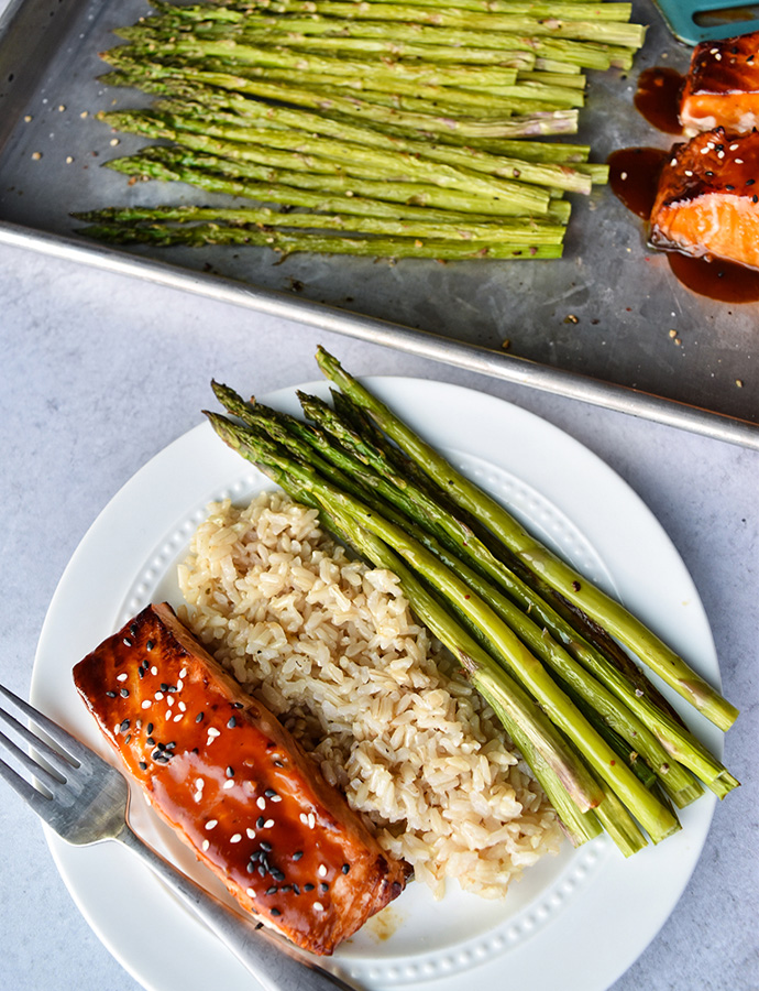 Sesame Glazed Salmon
