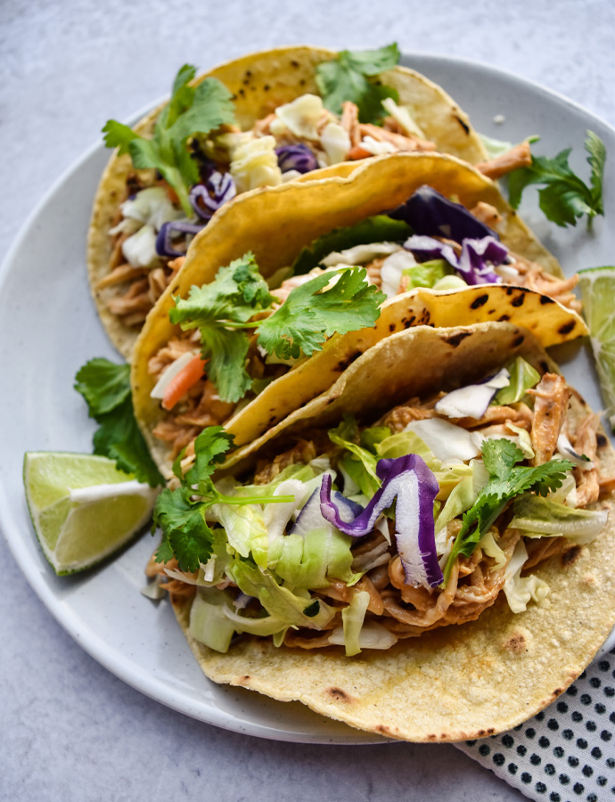 Asian Chicken Tacos
