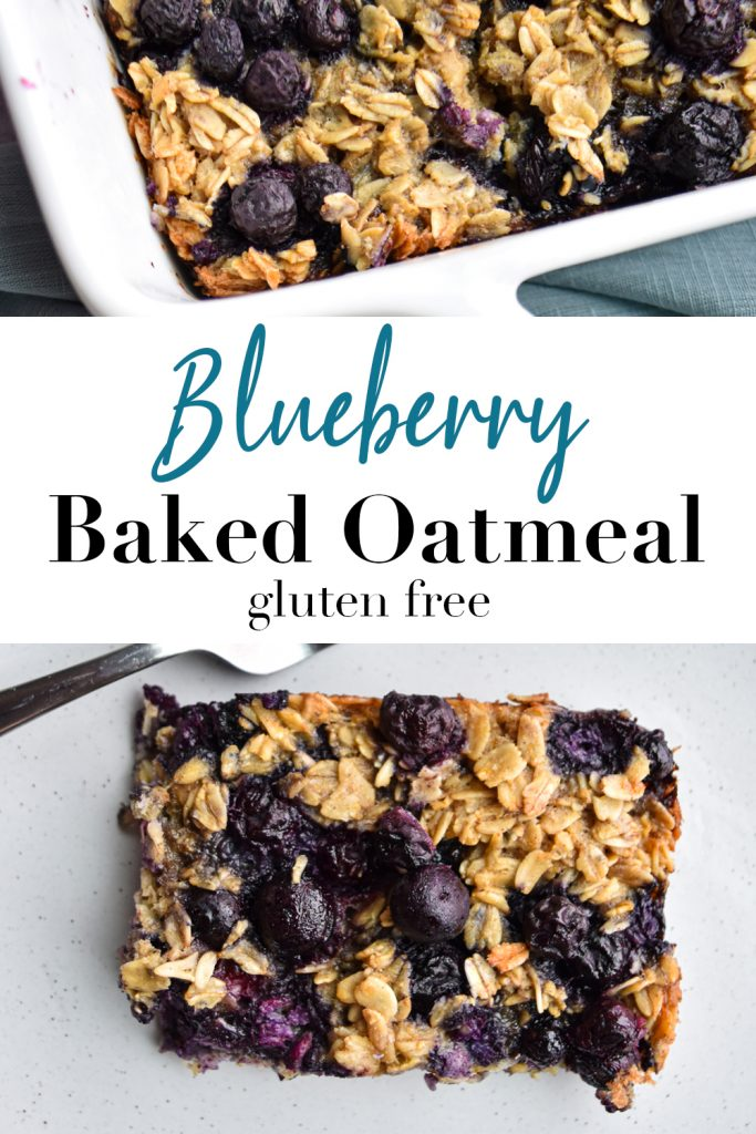 Blueberry Baked Oatmeal Pin