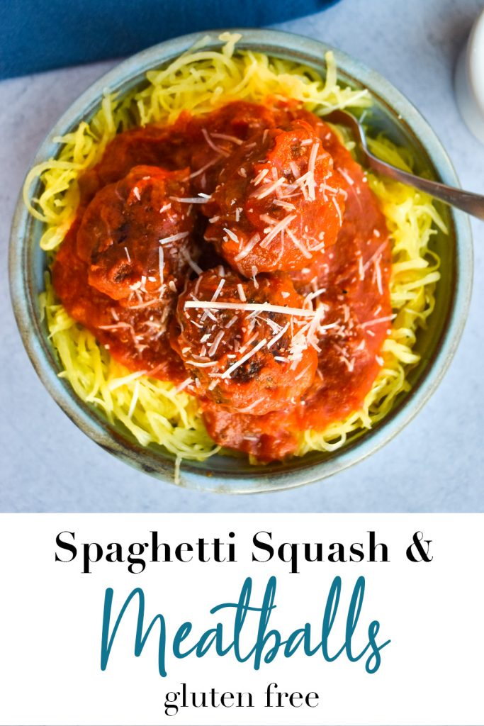 Spaghetti Squash and Meatballs Pin