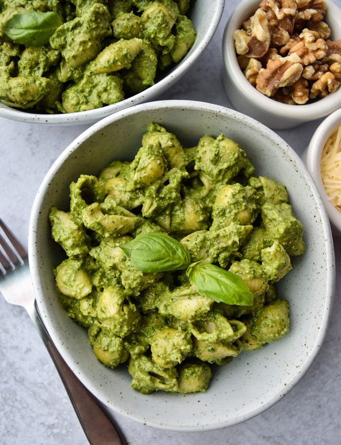 Walnut Spinach Pesto