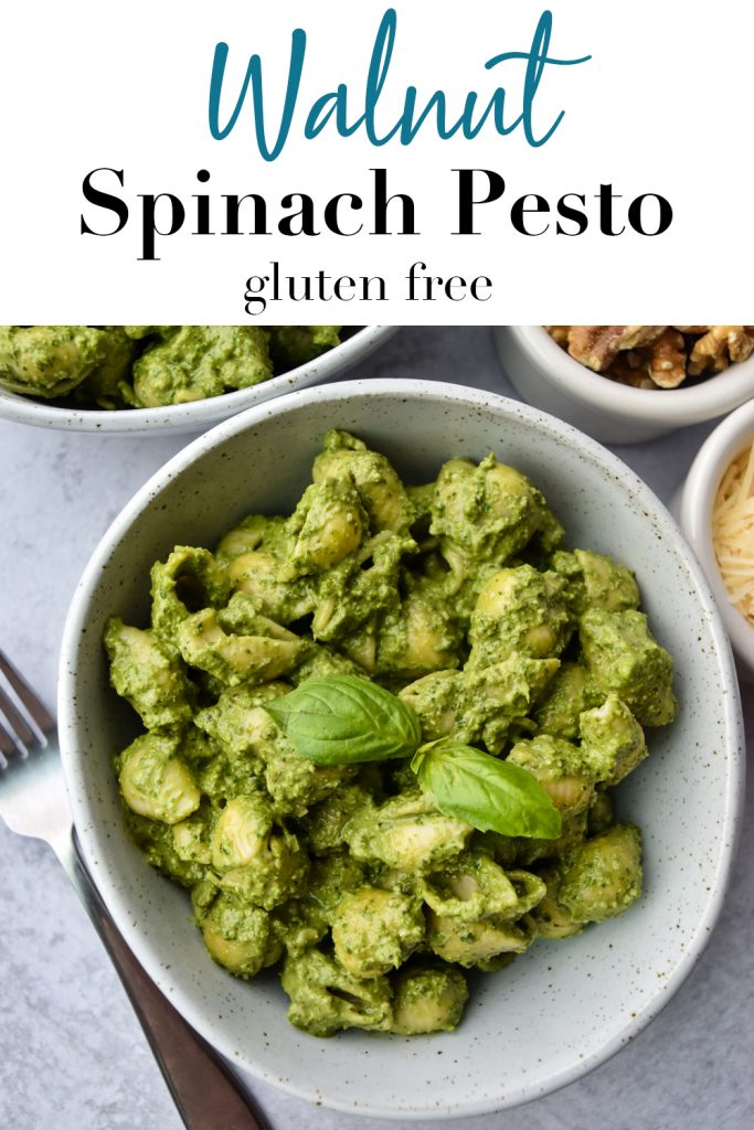 Walnut Spinach Pesto Pin