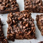 Double Chocolate Zucchini Oatmeal Bars