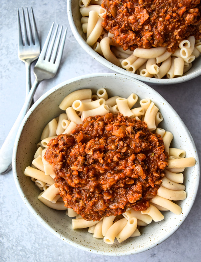 Easy Vegan Bolognese