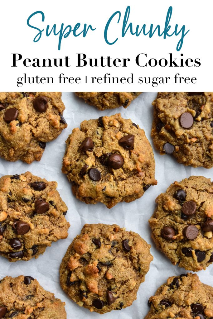 Super Chunky Peanut Butter Cookies Pin