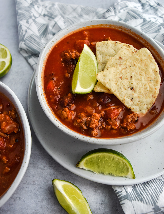 Fire Roasted Turkey Chili