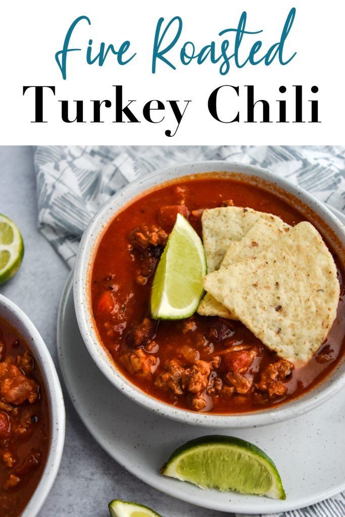 Fire Roasted Turkey Chili Pin