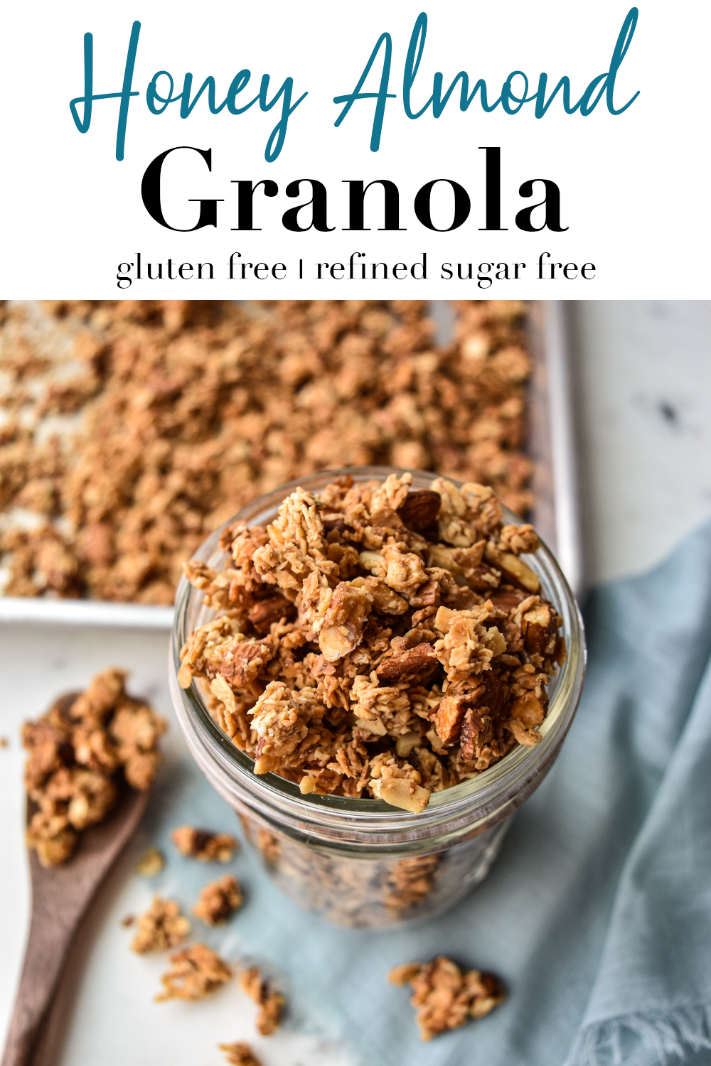 Honey Almond Granola Pin