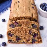 Easy Breakfast Blueberry Bread