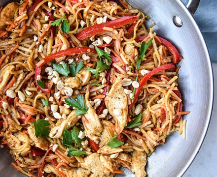 Quick and Easy Noodle Stir Fry