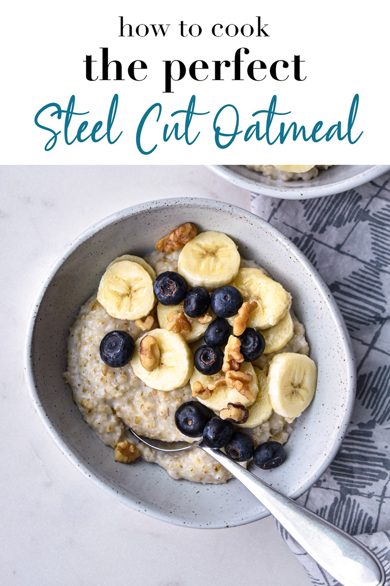Steel Cut Oatmeal Pin