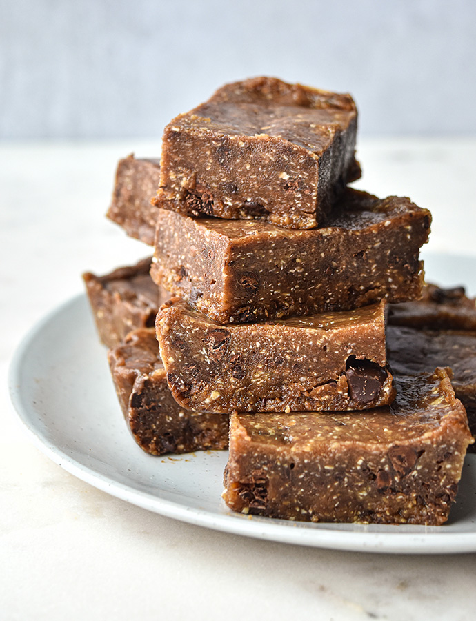 Healthy Banana Bread Freezer Fudge