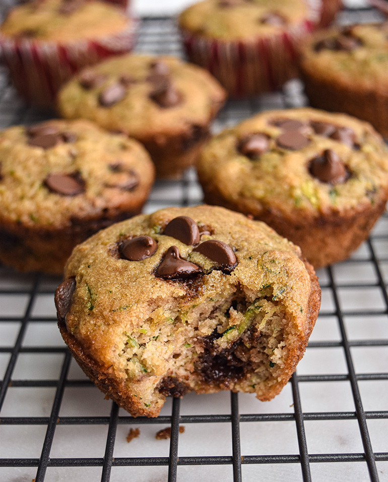 muffins on a cooling wrack