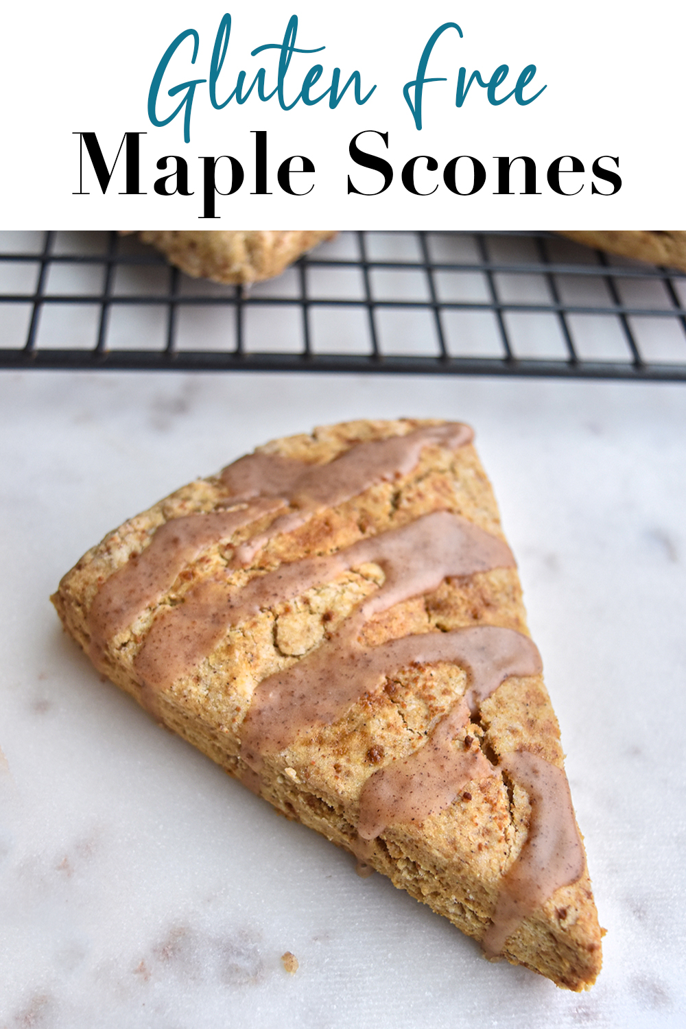 Gluten Free Maple Scones Pin