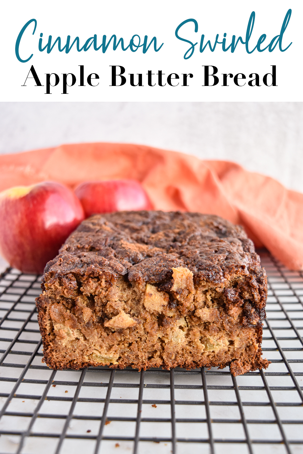 Cinnamon apple butter bread