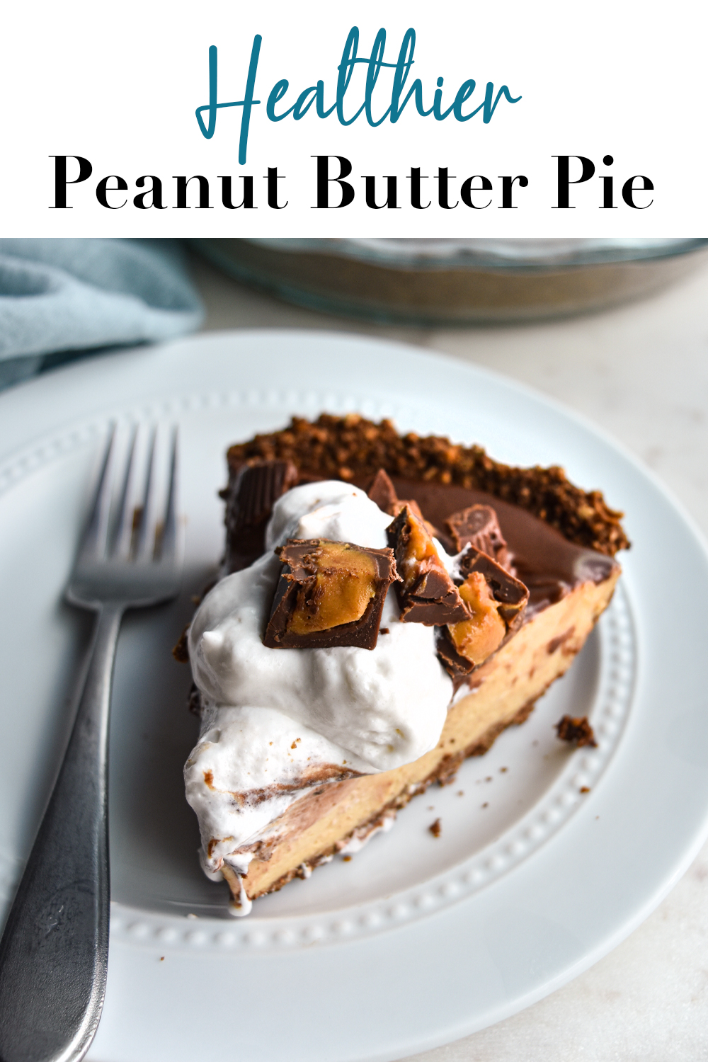slice of pie on a white plate