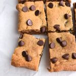 The Best Peanut Butter Blondies