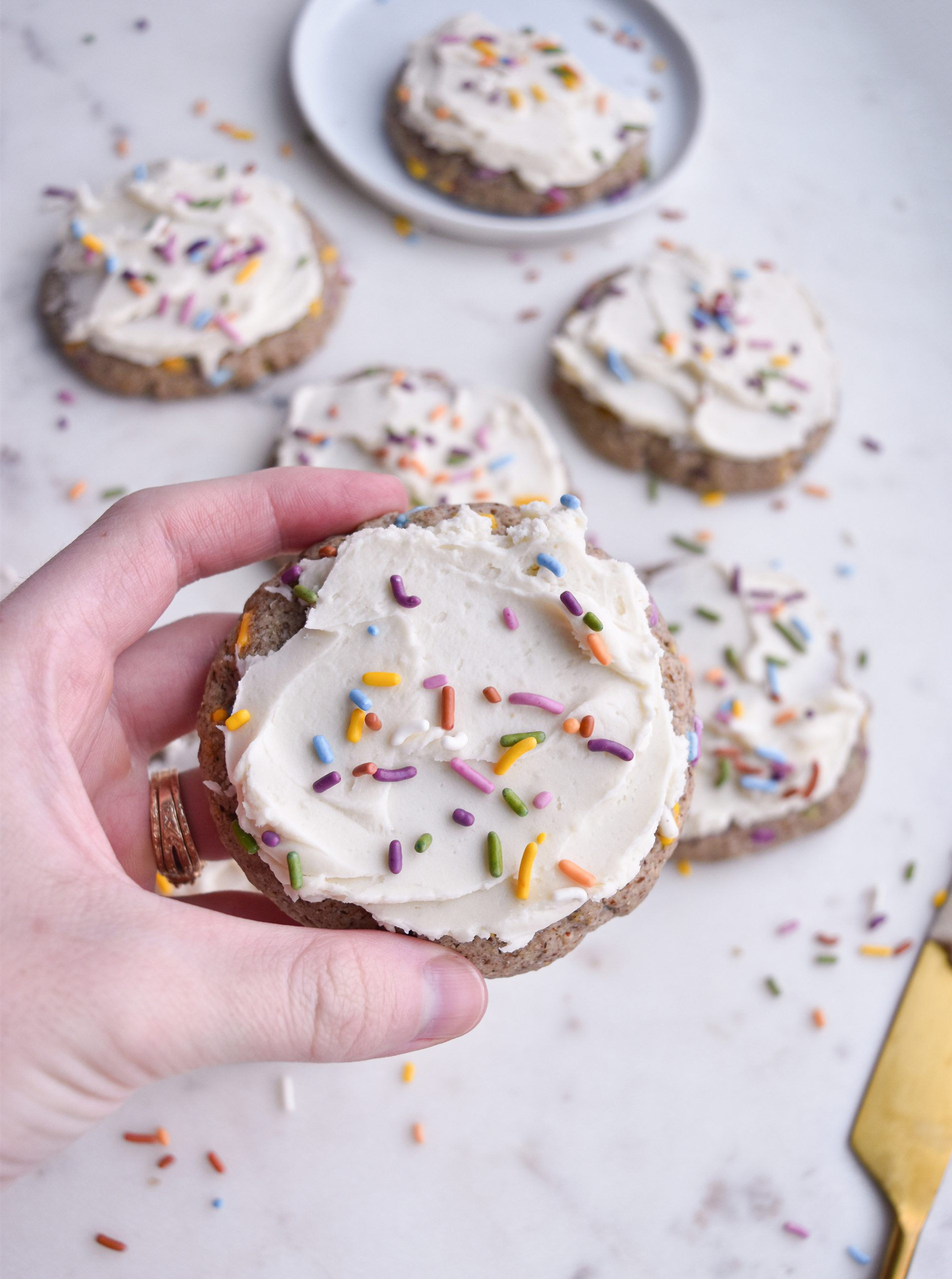 funfetti with sprinkles on top